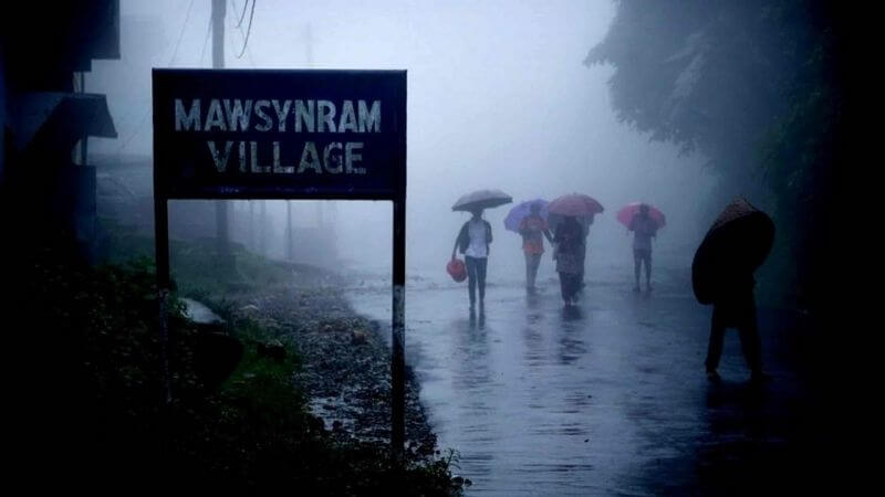 Mawsynram Wettest Place In India