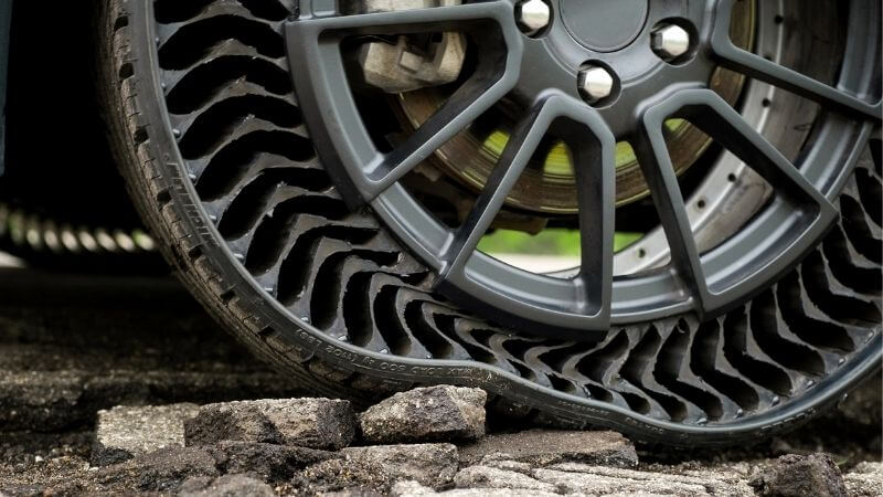 Michelin's Airless Tyres