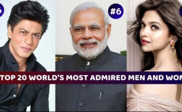 Most Admired Men & Women