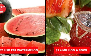 Expensive fruits