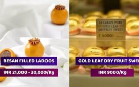 Most Expensive Indian Sweets For Diwali