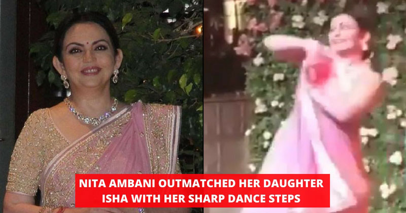 Nita Ambani Danced In Isha's Engagement