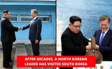 North Korea unites with south korea