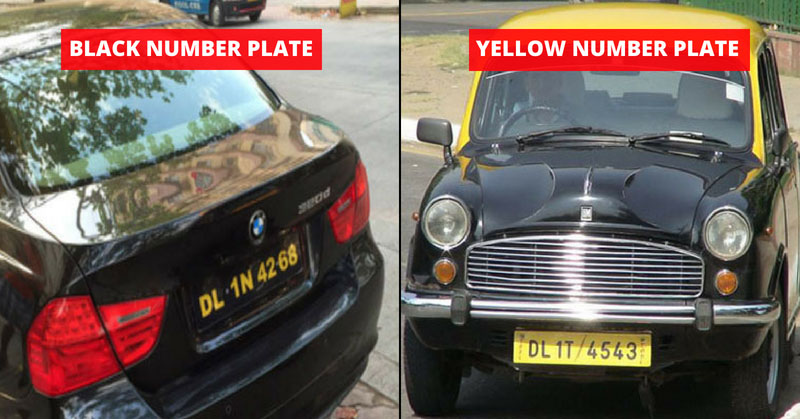 Number Plates In India