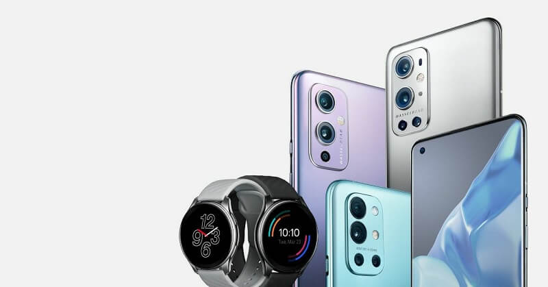 OnePlus 9 and Watch