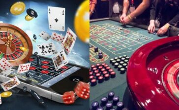 Onlino Casinos vs Land Based