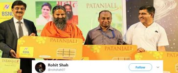 Patanjali Sim Cards Launched