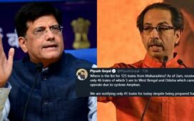 Shramik Trains Piyush vs Uddhav