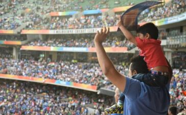 Indians Love Cricket