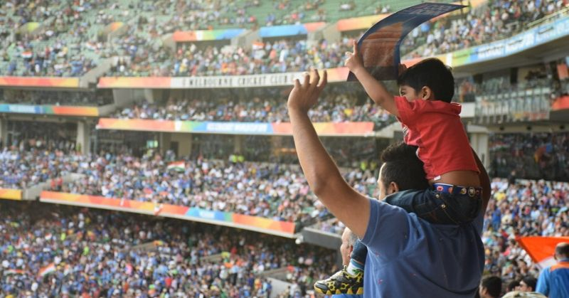 Indians Love Cricket