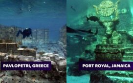 Real Cities Found Underwater