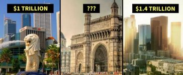 Top Richest Cities in the world Mumbai in twelth