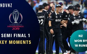 Semi-Final 1 India vs New Zealand