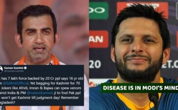 Shahid Afridi Remarks on Modi and Kashmir