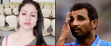 Mohammad Shami and wife