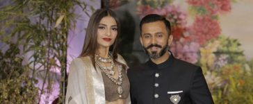 Sonam Kapoor Wedding Reception