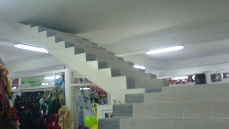 Stairs To The Ceiling