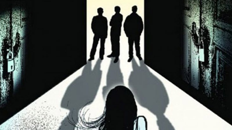 Teen raped by old man and 5 others