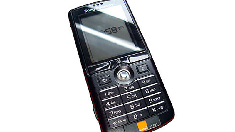 The K750, launched in 2005, was a candybar-style phone