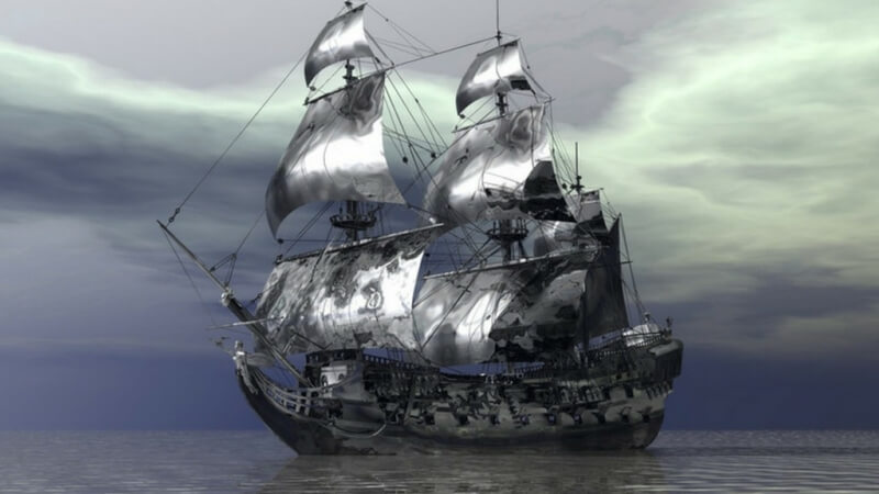 The Lady Lovibond Ghost Ship