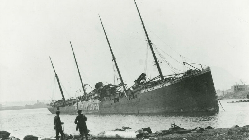 The SS Valencia Ghost Ship