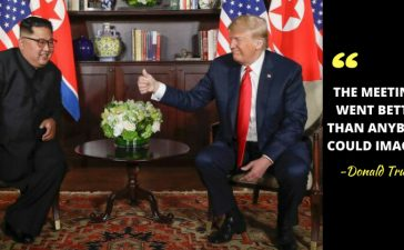 Donald Trump Meets Kim Jong Un