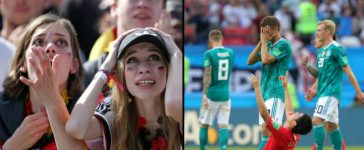 Germany Knocked Out Of FIFA World Cup 2018