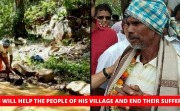 Odisha Man Carves Water Canal Through Mountain