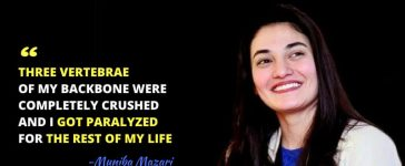 Muniba Mazari - Iron Lady Of Pakistan