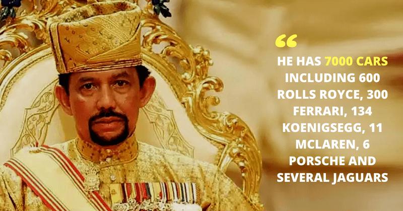 Richest Sultan Hassanal Bolkiah