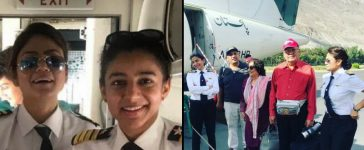 Pakistani Women Pilots Fly To Gilgit
