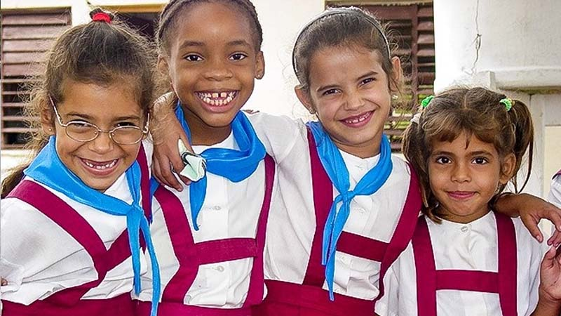 There are a few variations of uniforms in Cuba