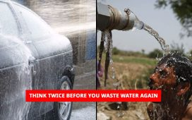 Think twice before you waste water again