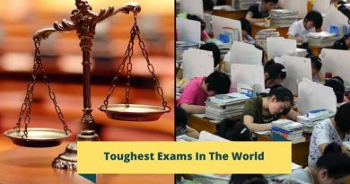 Toughest Exams