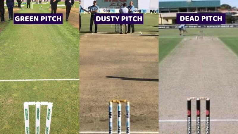 Types of Cricket Pitches