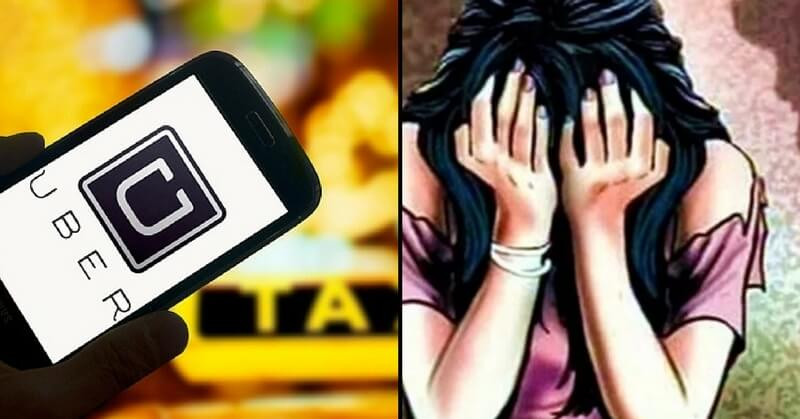 Uber Driver Locked Delhi Woman