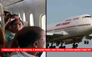 Air India flight turbulence