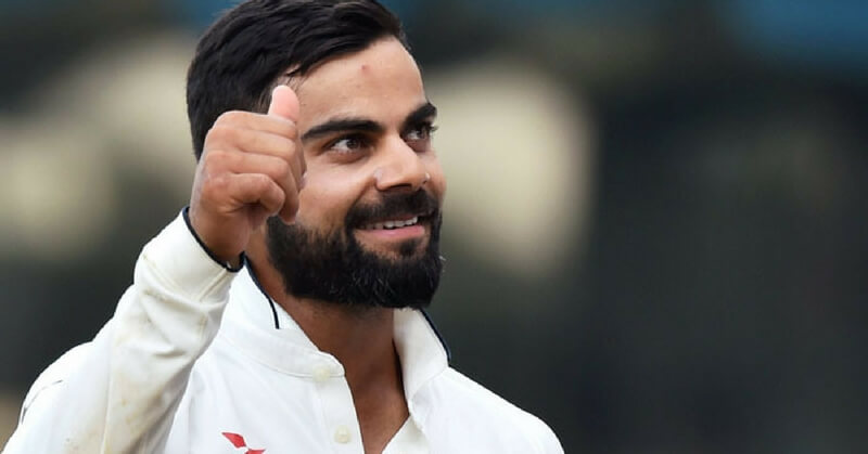 Virat Kohli Thumbs Up