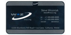 See How The Visiting Cards Of These Famous Personalities