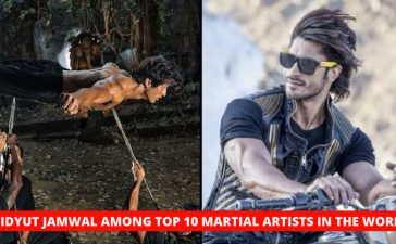 Vidyut Jamwal Ranked Sixth In The Top 10 Martial Artists Of The World, Only Indian On The List