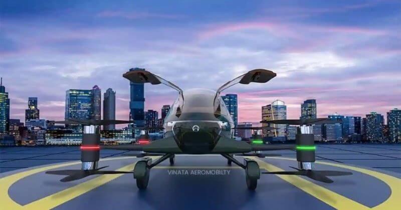 Vinata Aeromobility Asia's first Hybrid Flying Car