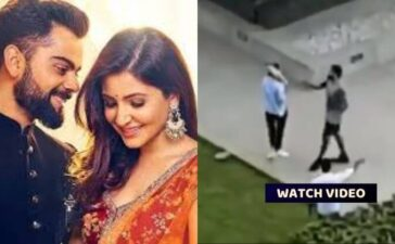 Cricket Virat Anushka Terrace Video