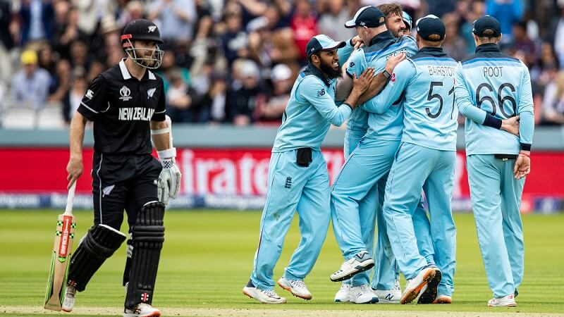 World Cup Final England vs New Zealand