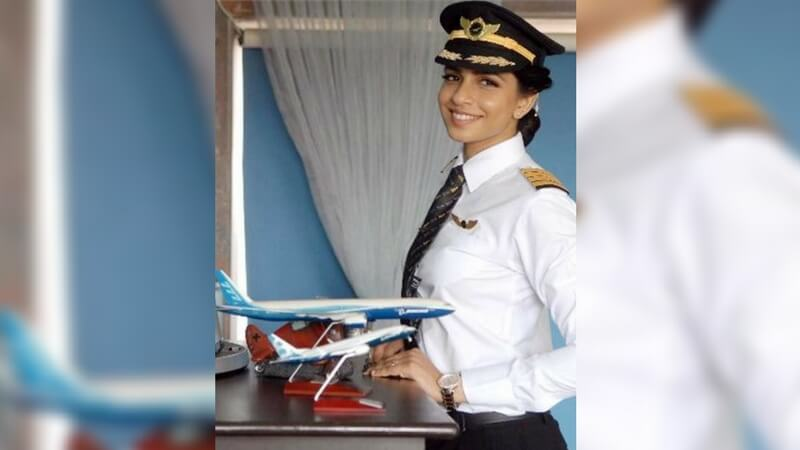 World's youngest female Boeing 777 commander