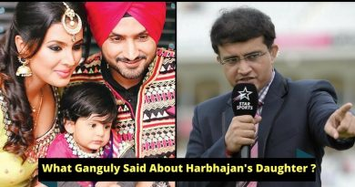 Ganguly Apologized To Harbhajan After An Awkward Comment