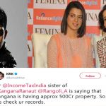 KRK Reported To Income Tax About Kangana Ranaut's Property