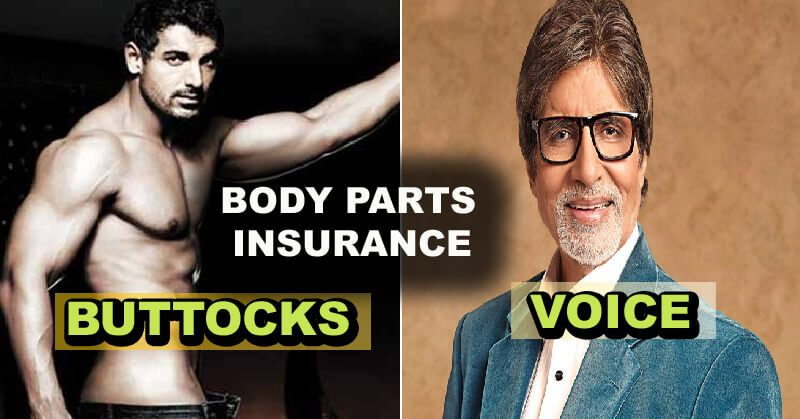 body parts insured