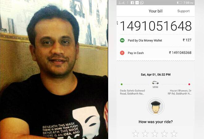 Ola Charged Rs. 149 Crore
