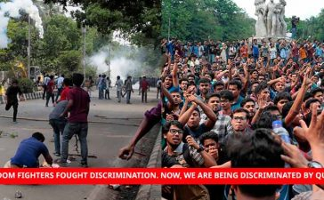 Student Protests In Bangladesh