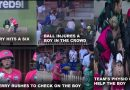 Ellyse Perry Stopped The Play To Check The Boy Who Got Injured By Her Shot